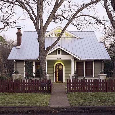 The Austin Project After Metal Roof Houses Small House Remodel Old Home Remodel