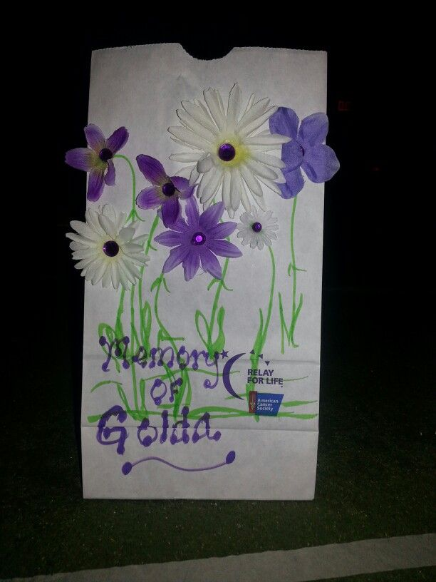 Pin By Paula Lorenzen On Relay Ideas Relay For Life Relay Luminaries Bags
