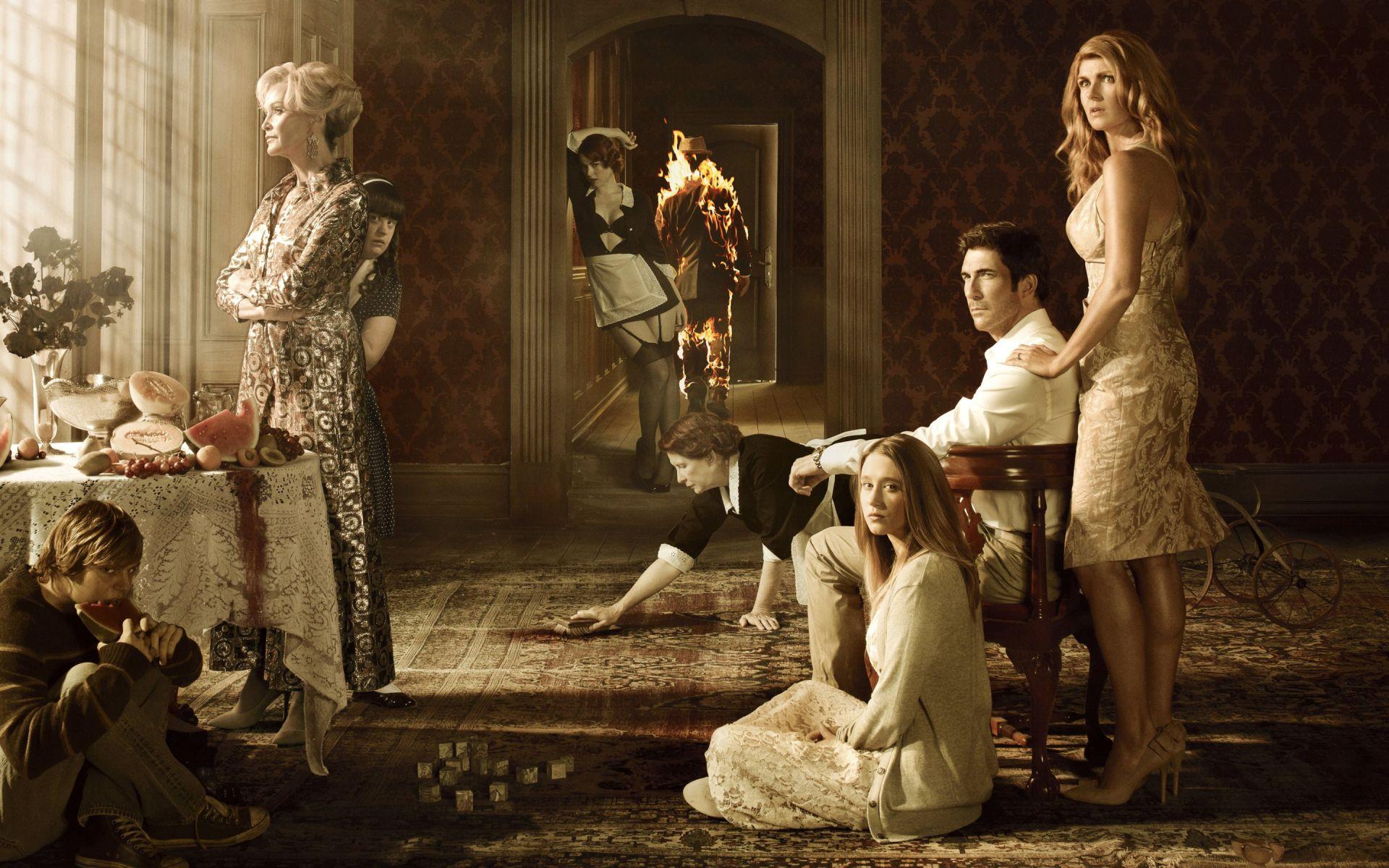 Programa De Tv American Horror Story Papel De Parede Com Imagens