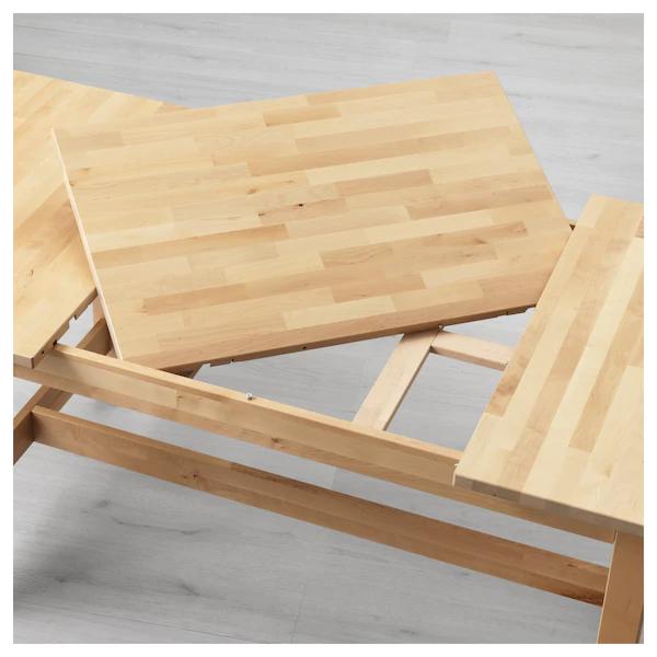 Norden Mesa Extensible Abedul Ikea Ikea Dining Table Extendable Dining Table Dining Table