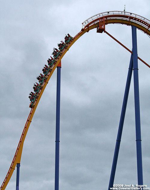 Behemoth - Canada's Wonderland. The third tallest coaster in the WORLD! Conquered.