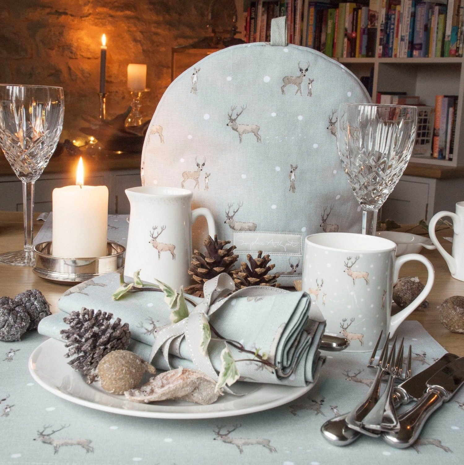Decorate Your Dinning With These Lovely Christmas Chair: 'Stag' From Sophie Allport (With Images