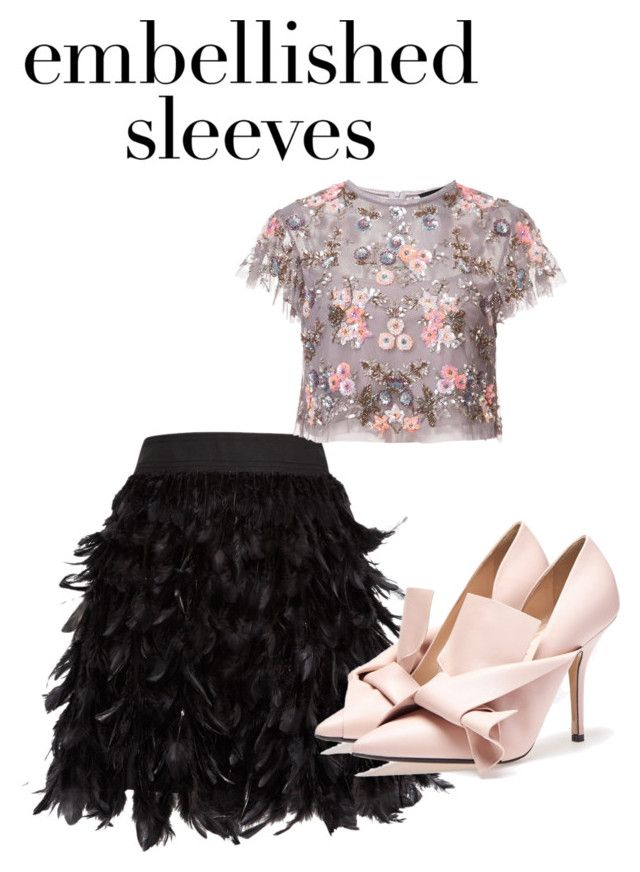 """""""Untitled #653"""" by diamond-77-fire on Polyvore featuring Alice + Olivia and Needle & Thread"""