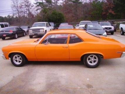 My Second Car A 1970 Chevy Nova Mine Was A Much Duller Color