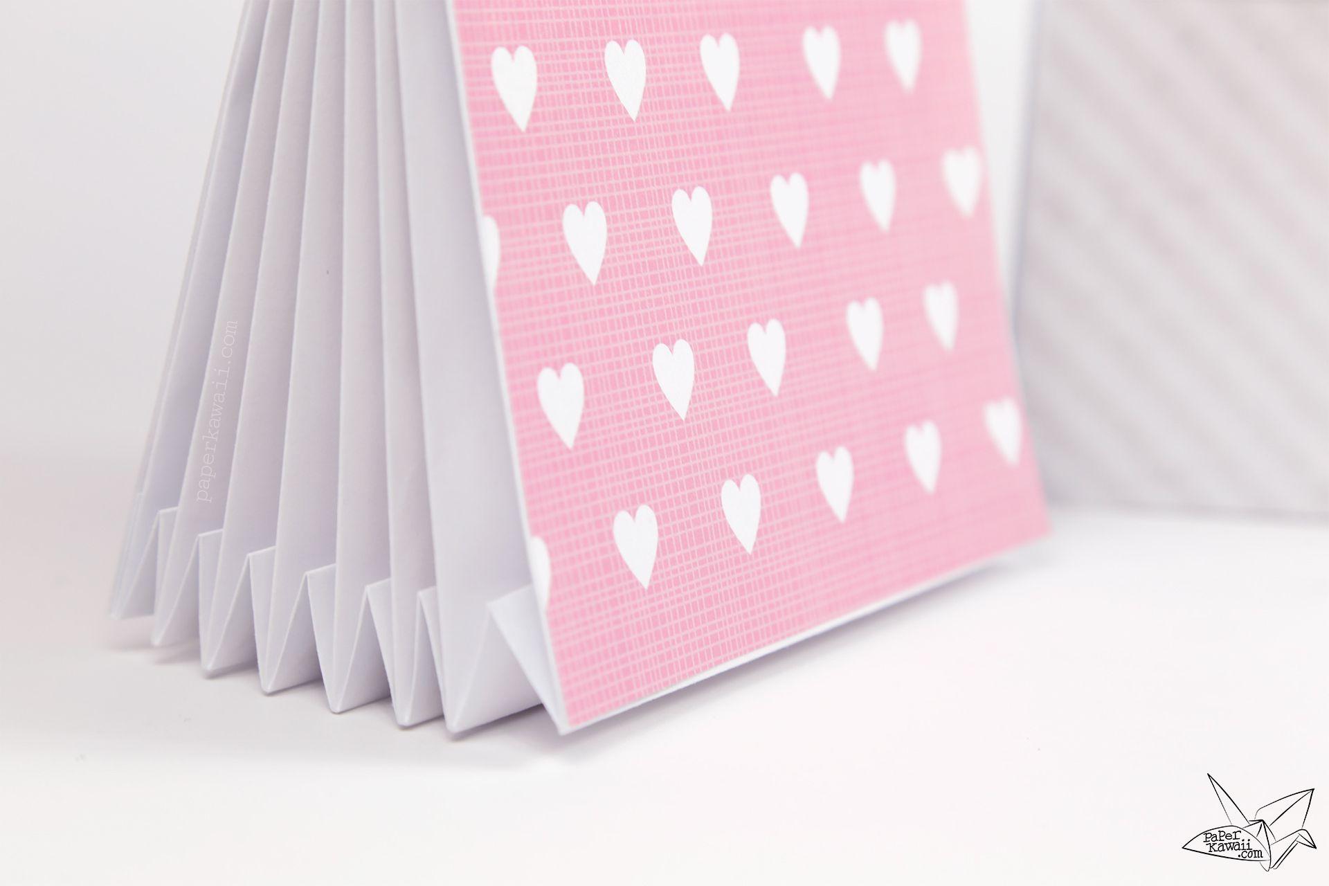 Origami Accordion Document Folder Tutorial Paper Kawaii Folder Diy Origami Origami Letter