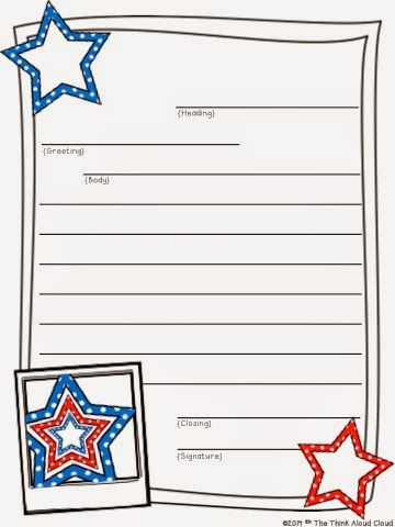 These 4th of july pages are a free sample of the july edition these freebie friendly letter writing sample from the july set my kids do a great job with these spiritdancerdesigns Image collections
