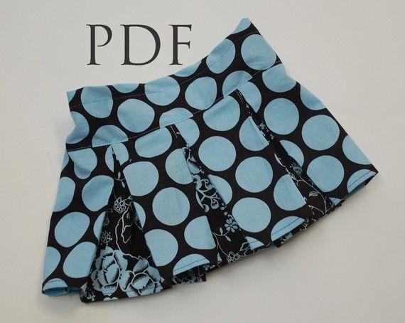 pleated skirt   Moldes VII   Pinterest   Rock nähen, Nähe und Couture