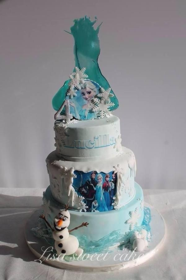 Disneys frozen with sugar art