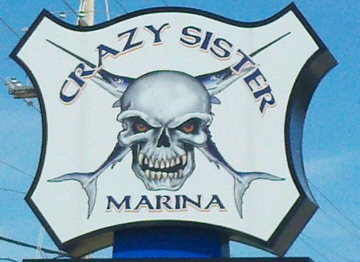 Crazy sister marina boat