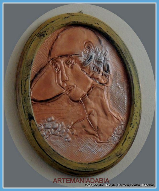Técnica Latonagem no estanho pintado com tinta  vitral cobre(Foto: Carmen Beatriz ME - ARTEMANIADABIA)