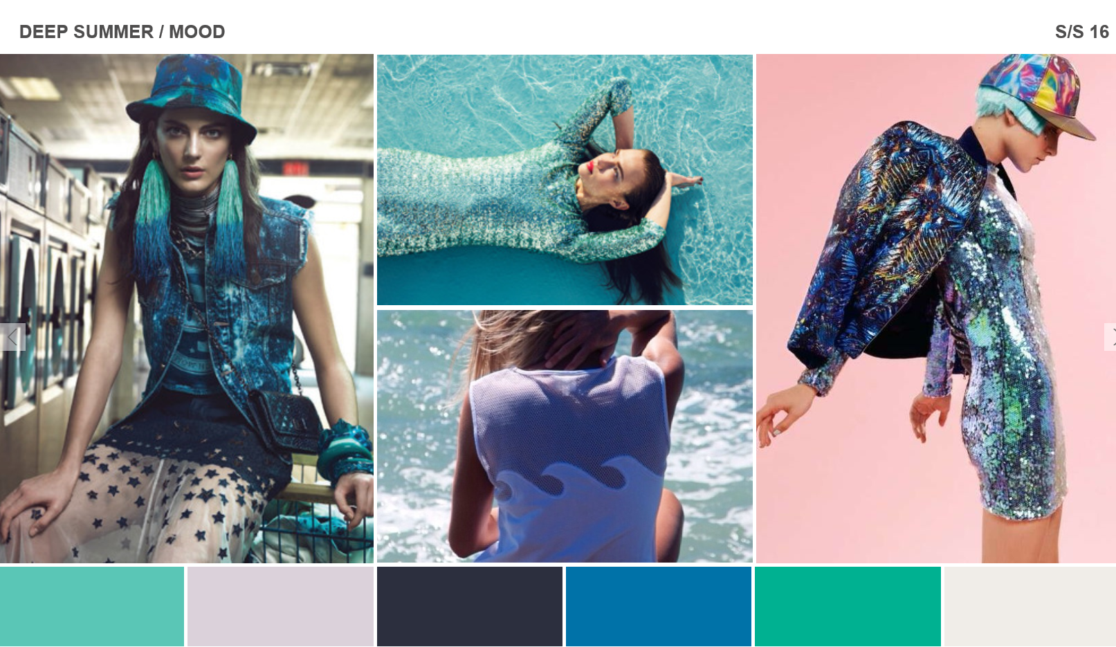 this is the deep summer mood board that i will be drawing ...
