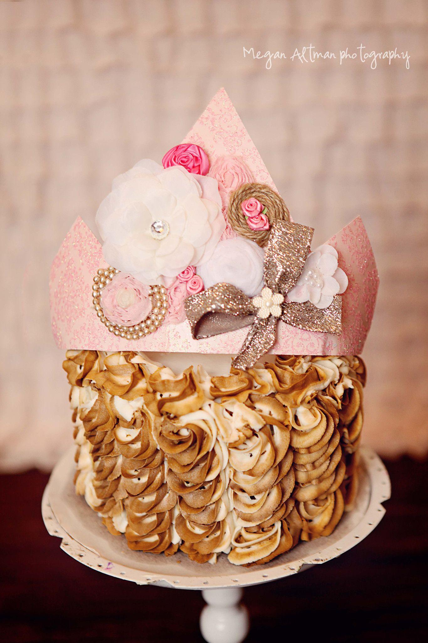 Southern Charm Crown Vintage Birthday Rustic Girl Decorations Cake Smash