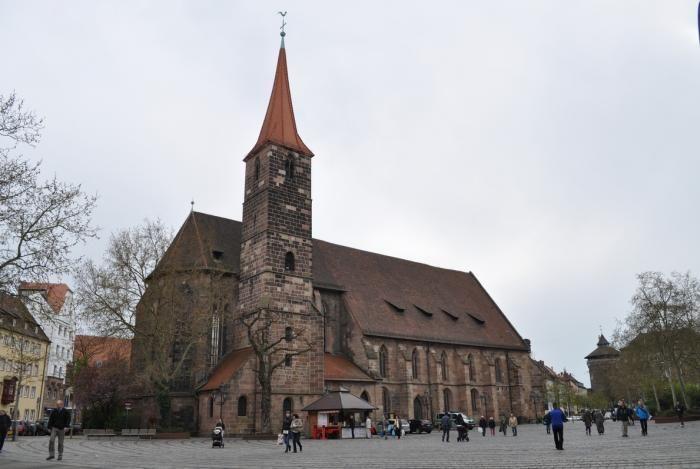 St. Jakobskirche; Nürnberg/Nuremberg; Germany;