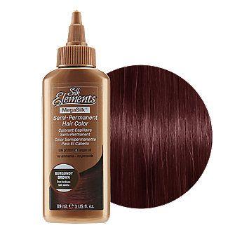 burgundy brown semi permanent hair color in 2019 hair