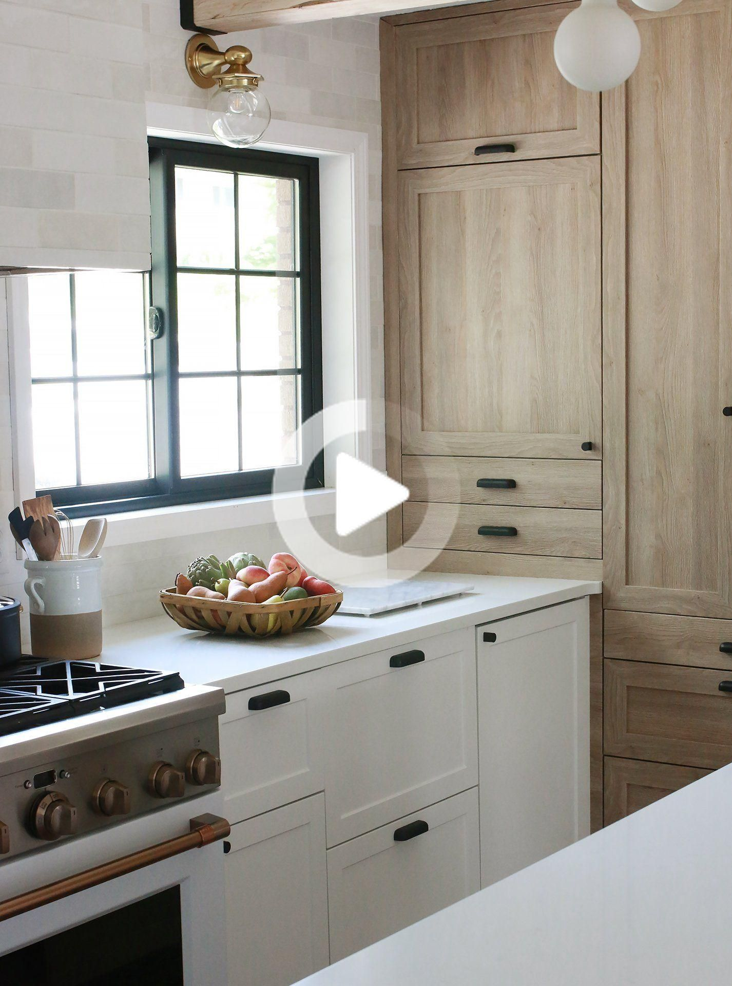 Beautiful And Functional Kitchen With Chris Loves Julia S Cove Shaker In 2020 Ikea Kitchen Design Kitchen Decor Inspiration Kitchen Design