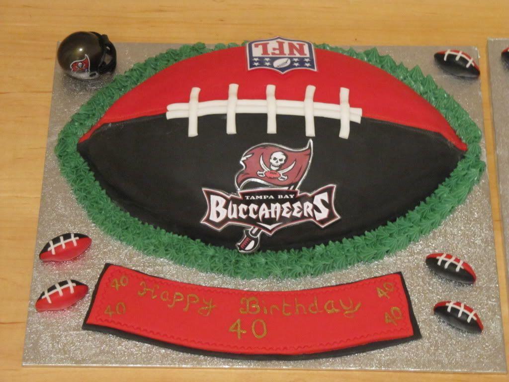 Tampa Bay Buccaneers Football Cake Giant Cupcake Cakes Sport Cakes Football Cake