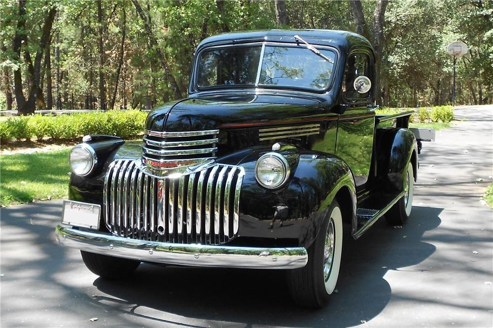 1946 chevy truck lowrider truck | 1946 CHEVROLET 3100 Lot 374 ...