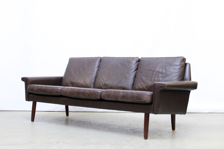 Vintage Skippers M¸bler leather designer sofa van S Amsterdam Mid century modern vintage design interior