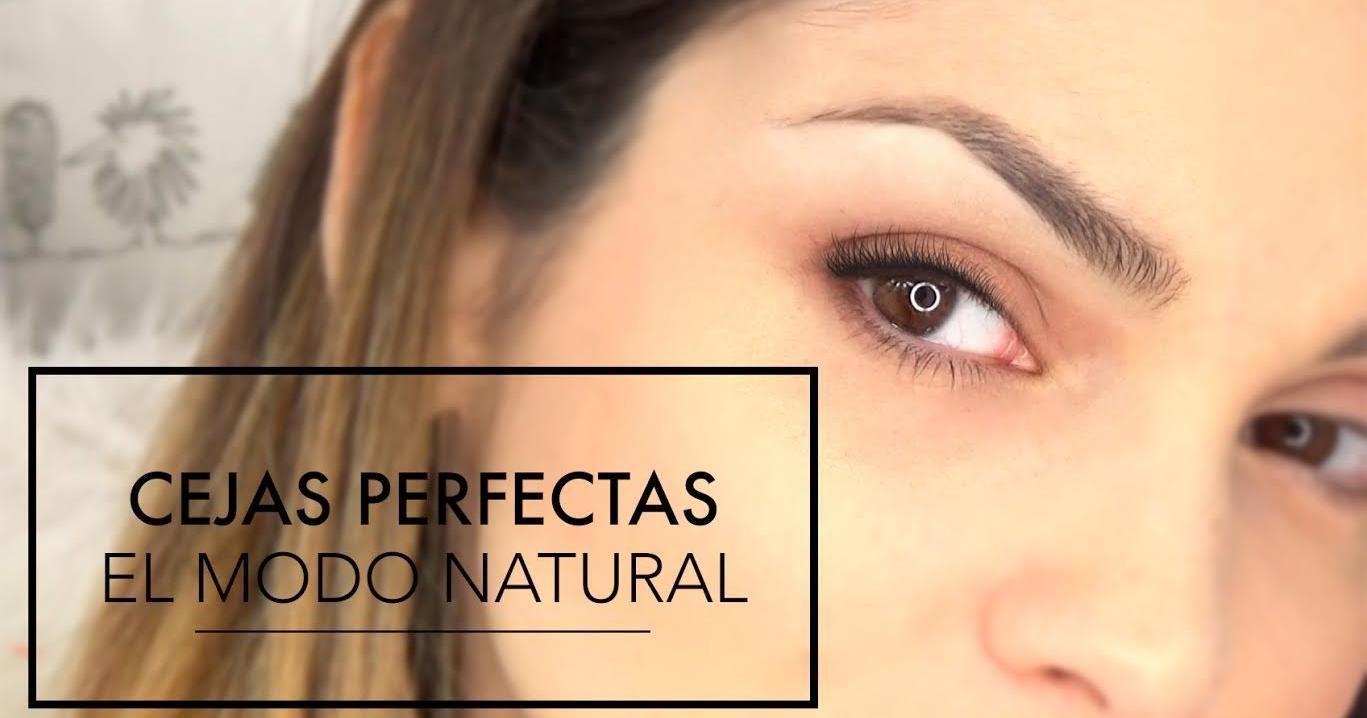 Cómo depilar, rellenar y maquillar tus cejas paso a paso. ¡Fácil y sencillo