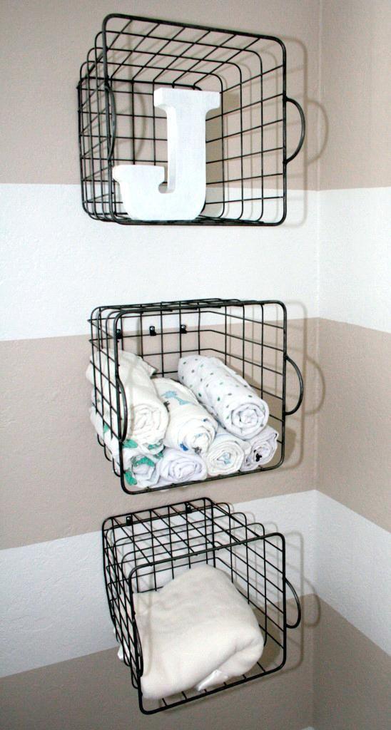 Wall Hanging Wire Storage Baskets Hanging Wire Mesh Storage Baskets ...