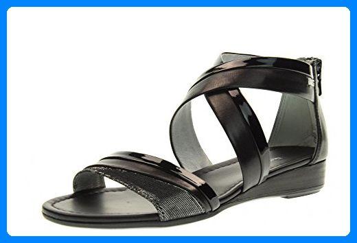 NERO GIARDINI Sandalen Schuhe P717601D / 100 Größe 35 BLACK - Schnürhalbschuhe für frauen (*Partner-Link)