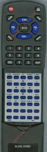 RCA Replacement Remote Control for 264852, D27F750T, D32F750T, D52W23, D52W23YX32 by Redi-Remote. $46.95. This is a custom built replacement remote made by Redi Remote for the RCA remote control number 264852. *This is NOT an original  remote control. It is a custom replacement remote made by Redi-Remote*  This remote control is specifically designed to be compatible with the following models of RCA units:   264852, D27F750T, D32F750T, D52W23, D52W23YX32, D52W25, D52W2...