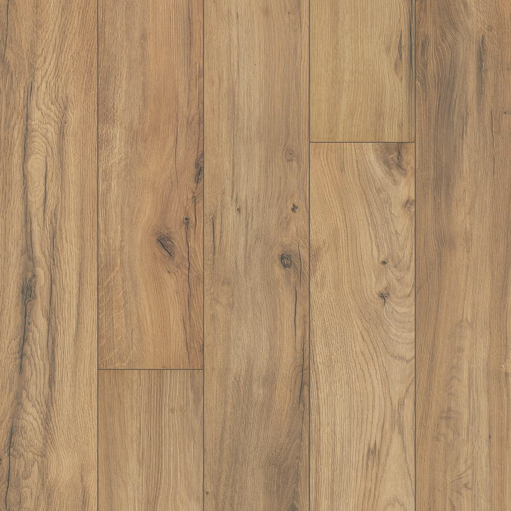 Pergo Outlast Golden Rustic Oak 10 Mm Thick X 6 1 8 In Wide X 47 1 4 In Length Laminate Flooring 16 12 Sq Ft Lf000985 Oak Laminate Flooring Pergo Outlast Oak Laminate