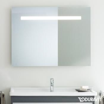 Captivating Duravit Ketho Mirror With Lighting