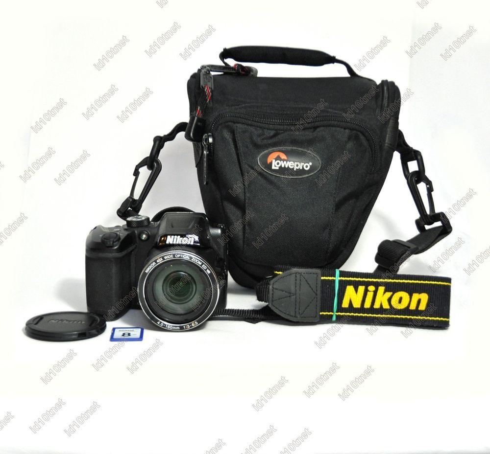 Nikon Coolpix B500 Digital Camera 16mp 40x Zoom Hd Video