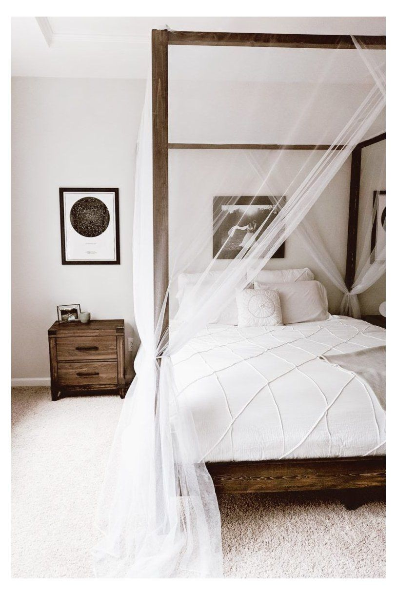 DIY Canopy Bed wood canopy bed Build a Restoration