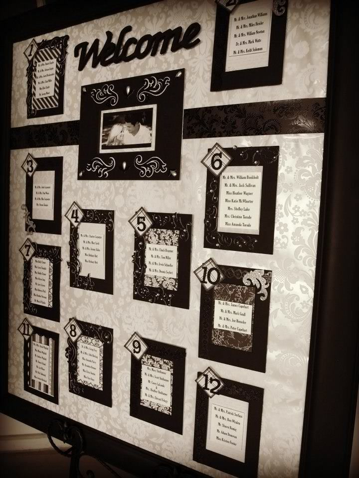 Diy table seating chart wedding ideas wedding seating wedding