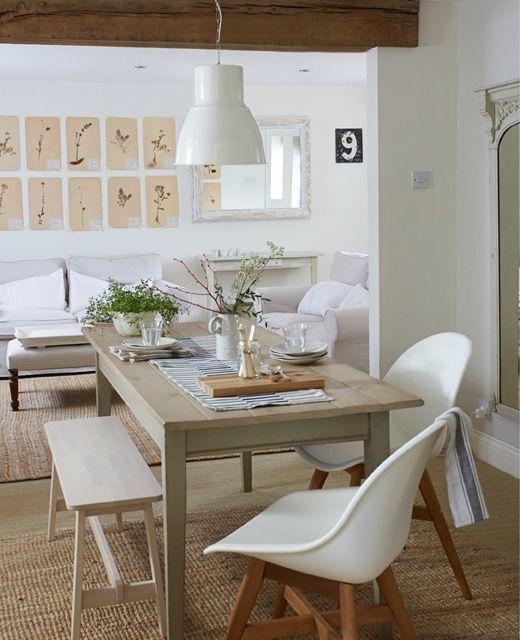 ikea deutschland ein esstisch in einem offen gestalteten. Black Bedroom Furniture Sets. Home Design Ideas
