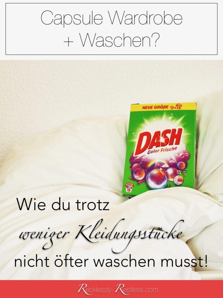 Capsule Wardrobe Waschen Warum Ich Trotz