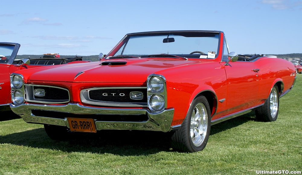 1966 GTO, my brother had a hardtop \'66 candy apple red. I loved that ...