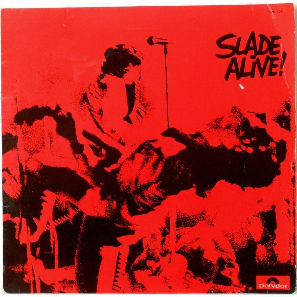 Slade Alive | Rock album covers, Classic album covers, Album