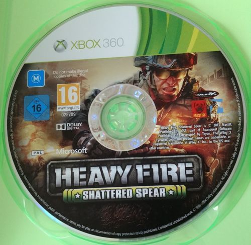 Heavy Fire Shattered Spear War Soldier Shooter Game For Microsoft