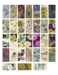 The Sum Of All Crafts: image collection - Domino Collage Sheets