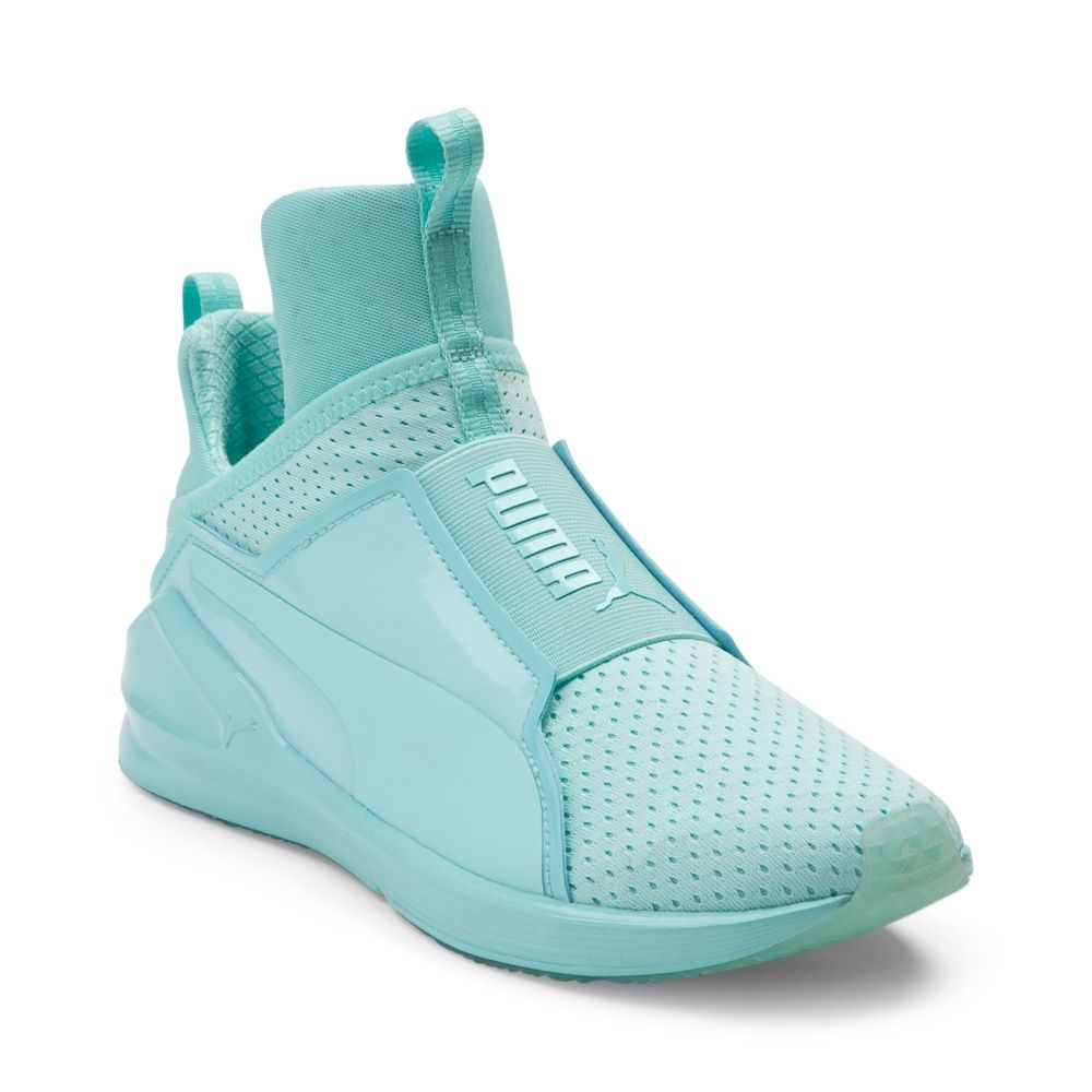 cb3fd4b2ef1 Womens Puma Fierce Reset Athletic Shoe - Mint - 361683