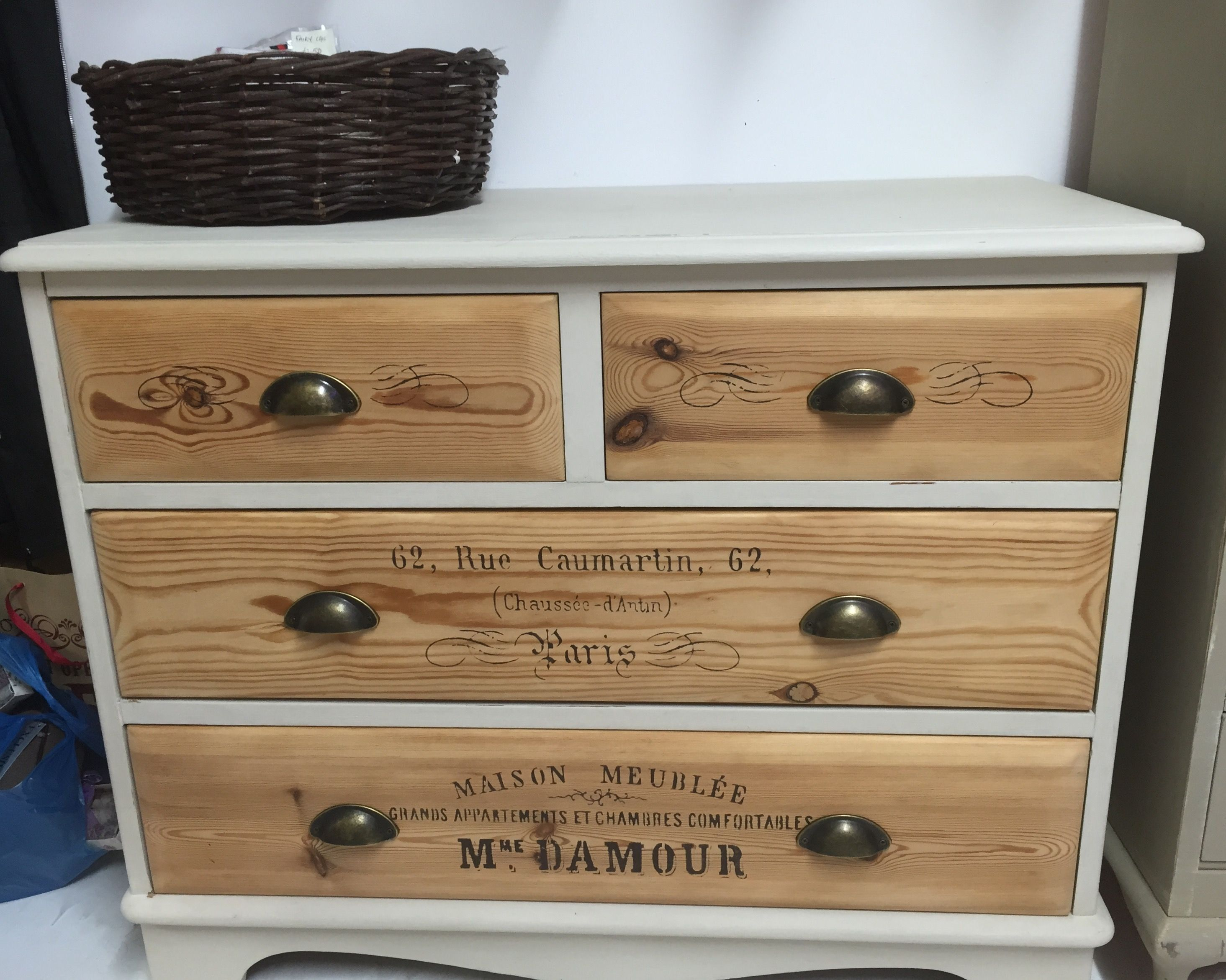 watch a shabby turning furniture old an baby of into upcycling changing chest chic unit dresser drawers youtube