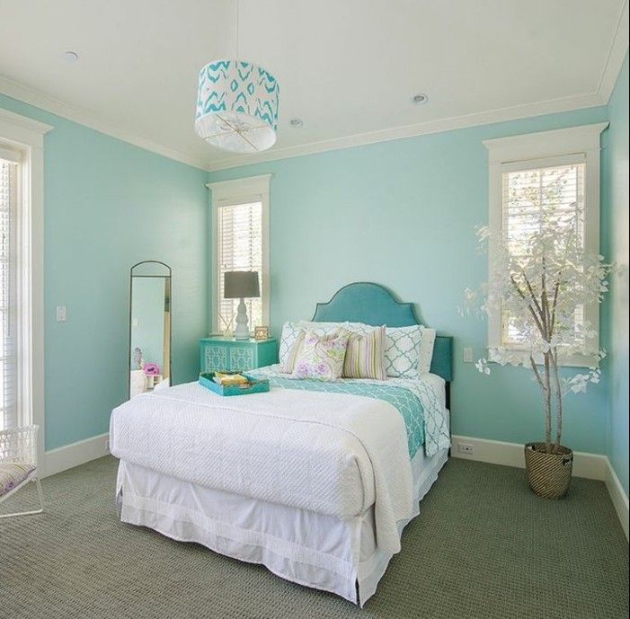 ▷ 1001+ designs stupéfiants pour une chambre turquoise | Dream ...