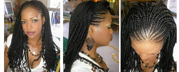Pleasant 1000 Images About African Hair Braiding On Pinterest African Short Hairstyles For Black Women Fulllsitofus