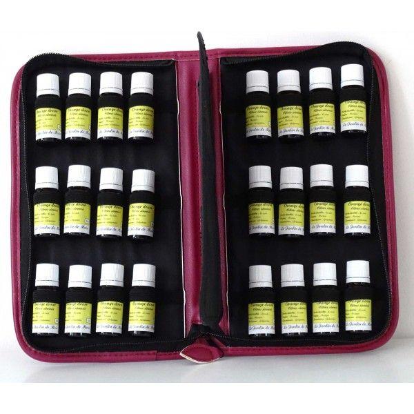 marvelous diffuseur huile essentielle bougie 1 malette de rangement pour 32 huiles. Black Bedroom Furniture Sets. Home Design Ideas