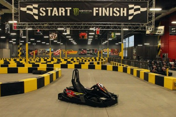 This Go Kart Track Would Be Amazing In My Future House Indoor Go Karts Go Kart Indoor Go Kart Racing