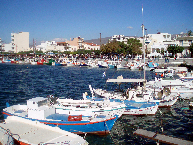 Waterfront, Karystos.