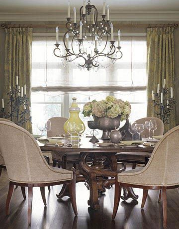 60 Stylish Dining Room Ideas From Formal To Family Friendly Dining Room Table Centerpieces Round Dining Room Dining Room Design