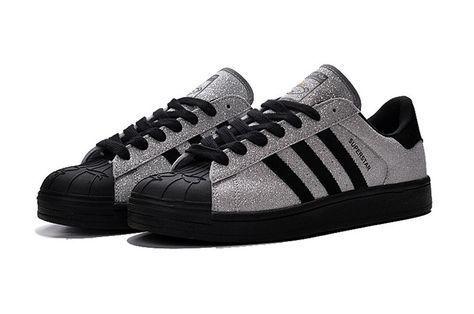 Adidas originali superstar nigo orso s83389 Uomo le donne scarpe grey