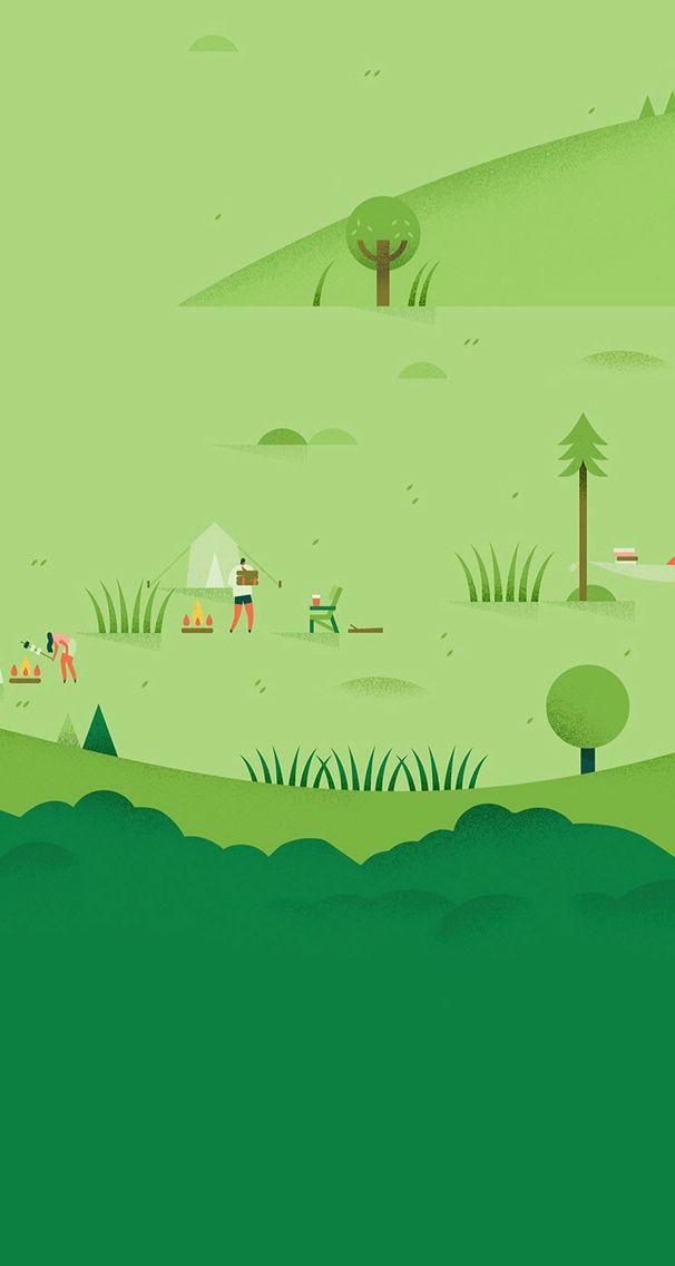 And A Simple Camping Thing Wallpaper Dekstop Geometric Art Prints Iphone 6 Plus Wallpaper