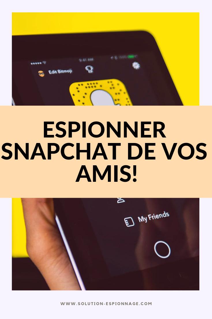 Espionner Snapchat