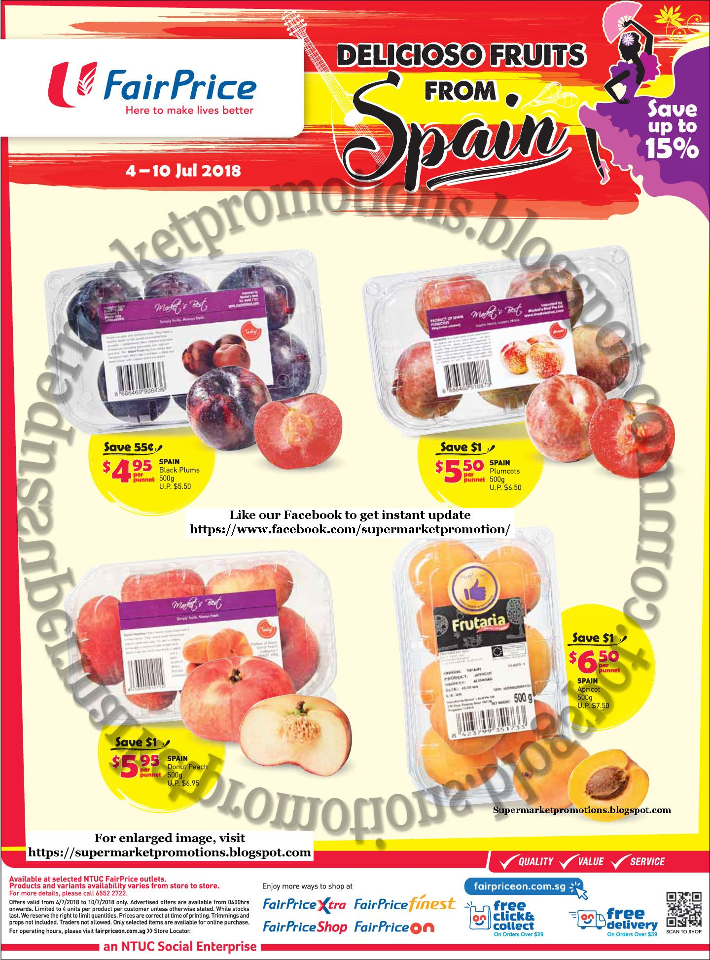 Pin by Reb Venus on Supermarket Promotions | Fruit, Donut