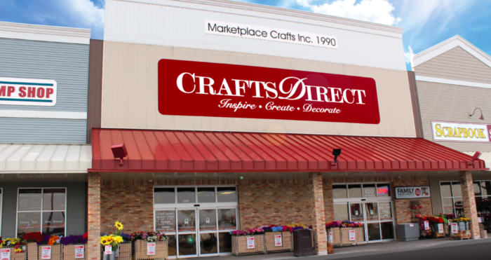Absolutely Gigantic You Could Easily Spend All Day Shopping At Crafts Direct In Minnesota Crafts Minnesota Craft Stores